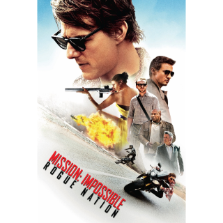 Mission: Impossible - Rogue Nation HD iTunes [ FLASH DELIVERY ⚡ ]