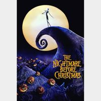 The Nightmare Before Christmas HD iTunes [ FLASH DELIVERY ⚡ ] [ports to MA]
