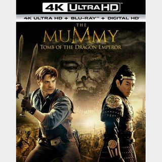 The Mummy: Tomb of the Dragon Emperor 4K Movies Anywhere [ FLASH DELIVERY ⚡ ]