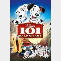 101 Dalmations 1961 HD iTunes [ FLASH DELIVERY ⚡ ] [ports to MA]