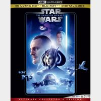 Star Wars: Episode I - The Phantom Menace 4K iTunes [ FLASH DELIVERY ⚡ ] [ports to MA]