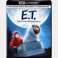 E.T. the Extra-Terrestrial 4K Movies Anywhere [ FLASH DELIVERY ⚡ ] [PORTS TO Vudu/iTunes/GP]