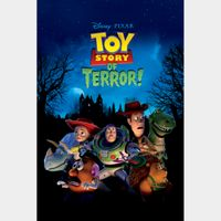 Toy Story of Terror! HD iTunes [ FLASH DELIVERY ⚡ ] [ports to MA]