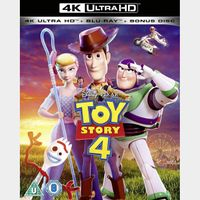 Toy Story 4 4K iTunes [ FLASH DELIVERY ⚡ ] [ports to MA]