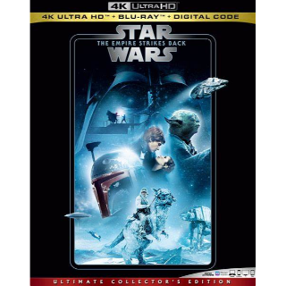 The Empire Strikes Back 4K Movies Anywhere [ FLASH DELIVERY ⚡ ]