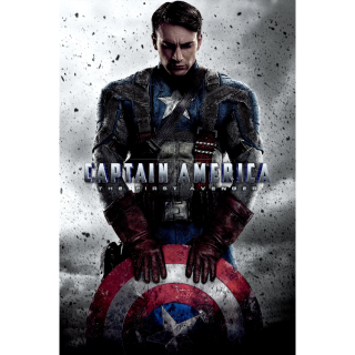 Captain America: The First Avenger HD Google Play [ FLASH DELIVERY ⚡ ] [ports to MA]