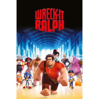 Wreck-It Ralph HD Google Play Canada [ FLASH DELIVERY ⚡ ] [MA Compatible]