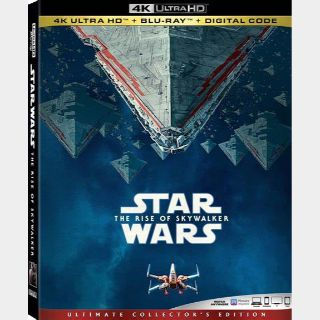Star Wars: The Rise of Skywalker 4K iTunes [ FLASH DELIVERY ⚡ ] [MA Compatible]