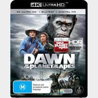 Dawn of the Planet of the Apes 4K iTunes [ FLASH DELIVERY ⚡ ]