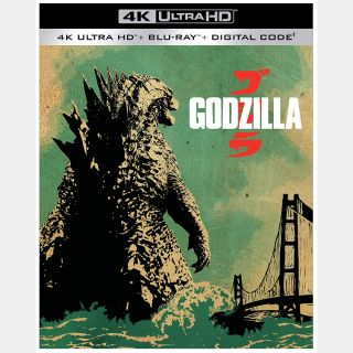Godzilla (2014) 4K Movies Anywhere [ FLASH DELIVERY ⚡ ]