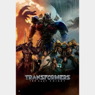 Transformers: The Last Knight 4k Vudu [ FLASH DELIVERY ⚡ ]