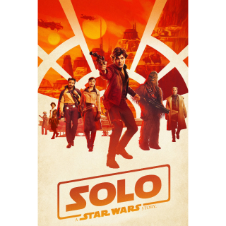 Solo: A Star Wars Story HD iTunes [ FLASH DELIVERY ⚡ ]