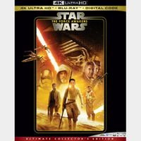 Star Wars: The Force Awakens 4K iTunes [ FLASH DELIVERY ⚡ ] [MA Compatible]