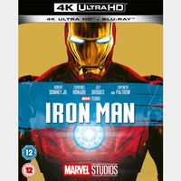 Iron Man 4K iTunes [ FLASH DELIVERY ⚡ ] [ports to MA]