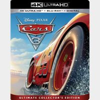 Cars 3 4K iTunes [ FLASH DELIVERY ⚡ ] [ports to MA]