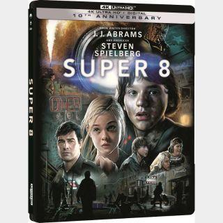 Super 8 4K iTunes|Vudu|Fandango [ FLASH DELIVERY⚡ ]