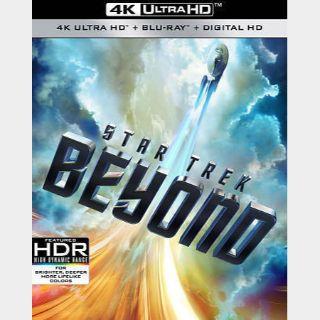 Star Trek Beyond 4K iTunes [ FLASH DELIVERY ⚡ ]