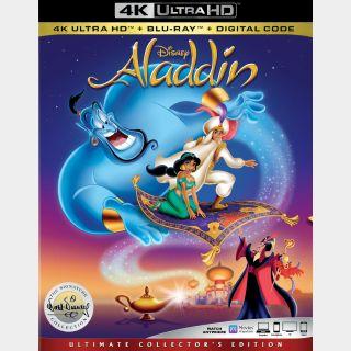 Aladdin 4K iTunes [ FLASH DELIVERY ⚡ ] [MA Compatible]