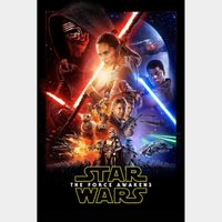 Star Wars: The Force Awakens HD Canadian GP [ FLASH DELIVERY ⚡ ] [MA Compatible]...
