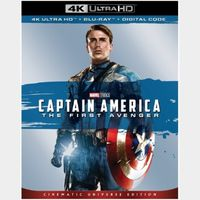 Captain America: The First Avenger 4K iTunes [ FLASH DELIVERY ⚡ ] [ports to MA]