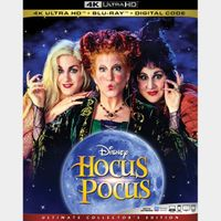 Hocus Pocus 4K Movies Anywhere [ FLASH DELIVERY ⚡ ]