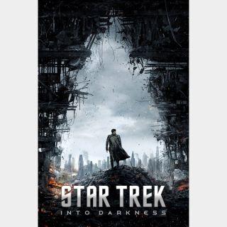 Star Trek Into Darkness HD iTunes|Vudu|Fandango