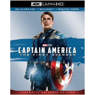 Captain America: The First Avenger 4K Vudu [ FLASH DELIVERY ⚡ ]