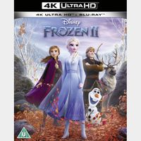 Frozen II 4K iTunes [ FLASH DELIVERY ⚡ ] [ports to MA]