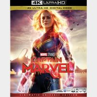 Captain Marvel 4K iTunes [ FLASH DELIVERY ⚡ ] [ports to MA]
