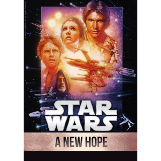 Star Wars: A New Hope HD iTunes [ FLASH DELIVERY ⚡ ]