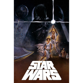 Star Wars: A New Hope HD iTunes  [ FLASH DELIVERY ⚡ ] [ports to MA]