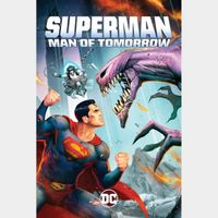 Superman: Man of Tomorrow HD Movies Anywhere [ FLASH DELIVERY ⚡ ]