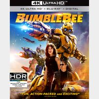 Bumblebee 4K Vudu [ FLASH DELIVERY ⚡ ]