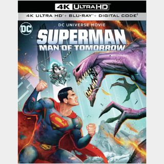 Superman: Man of Tomorrow 4K Movies Anywhere [ FLASH DELIVERY ⚡ ]