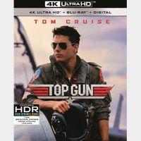 Top Gun 4K iTunes|Vudu|Fandango [ FLASH DELIVERY⚡ ]