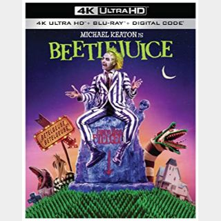 Beetlejuice 4K Movies Anywhere [ FLASH DELIVERY ⚡ ]