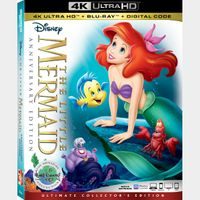 The Little Mermaid 4K iTunes [ FLASH DELIVERY ⚡ ] [ports to MA]