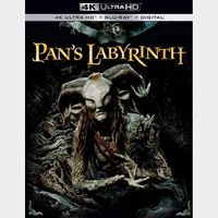 Pan's Labyrinth 4K Movies Anywhere [ FLASH DELIVERY ⚡ ]