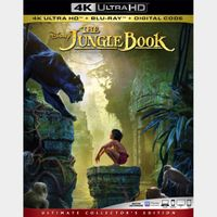 The Jungle Book 4K iTunes [ FLASH DELIVERY ⚡ ] [ports to MA]