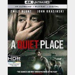 A Quiet Place 4K Vudu [ FLASH DELIVERY ⚡ ]