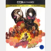 Ant-Man and the Wasp 4K iTunes [ FLASH DELIVERY ⚡ ]