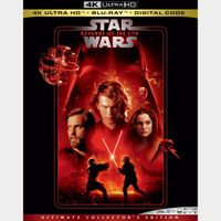 Star Wars: Episode III - Revenge of the Sith 4K iTunes [ FLASH DELIVERY ⚡ ] [ports to MA]