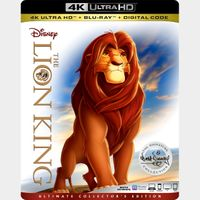 The Lion King 4K iTunes  [ FLASH DELIVERY ⚡ ] [ports to MA]