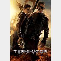 Terminator Genisys HD Vudu [ FLASH DELIVERY ⚡ ]