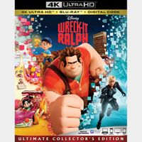 Wreck-It Ralph 4K iTunes [ FLASH DELIVERY ⚡ ] [MA Compatible]