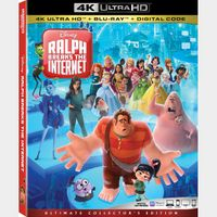Ralph Breaks the Internet 4K iTunes [ FLASH DELIVERY ⚡ ] [ports to MA]