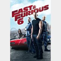Fast & Furious 6 HD iTunes [ FLASH DELIVERY ⚡ ]