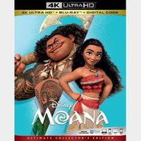 Moana 4K iTunes [ FLASH DELIVERY ⚡ ] [ports to MA]