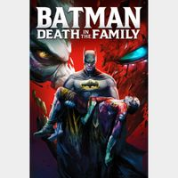 Batman: Death in the Family HD Movies Anywhere [ FLASH DELIVERY ⚡ ]