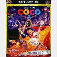 Coco 4K iTunes [ FLASH DELIVERY ⚡ ] [ports to MA]